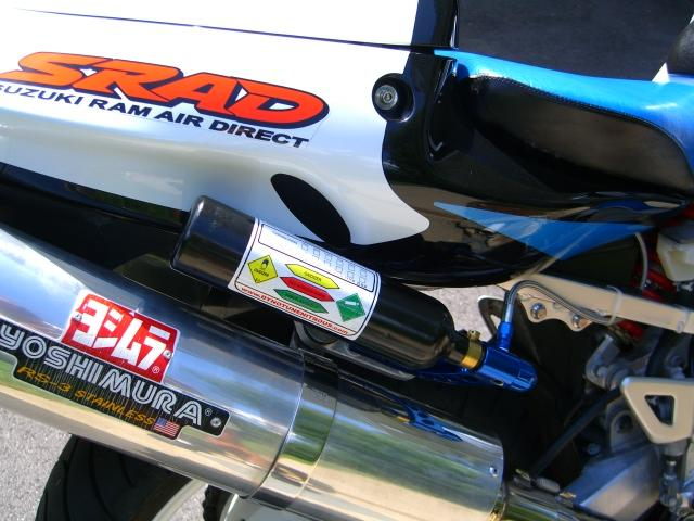 Nitrous Oxide Kit on a Motorcycle